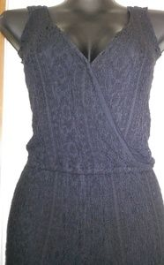 Rare Jen's Pirate Booty Lined Romper Jumpsuit Knit
